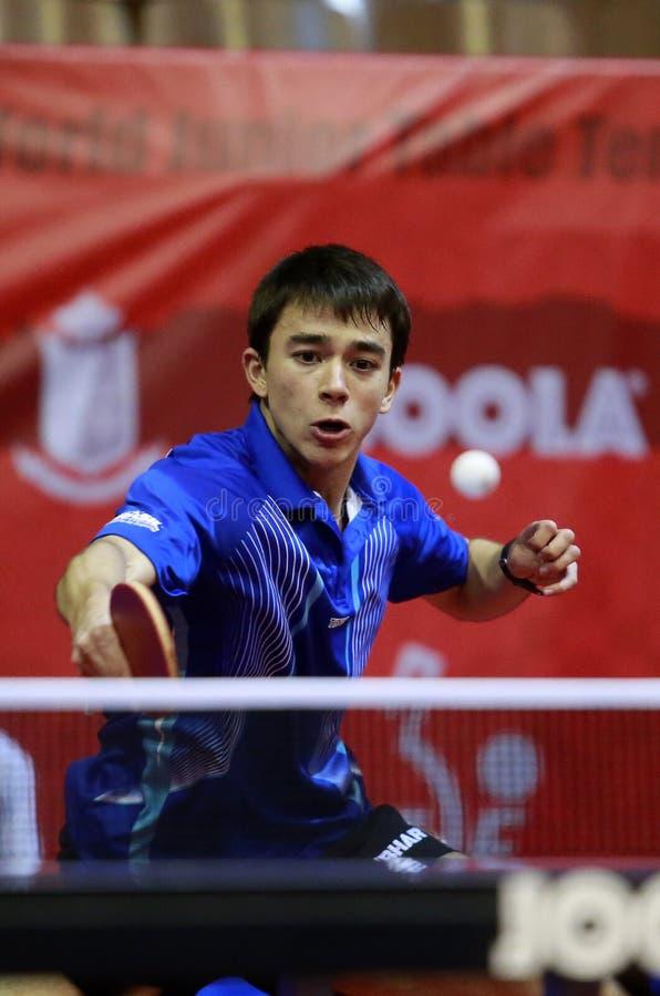 Hugo Calderano (BRA) image stock