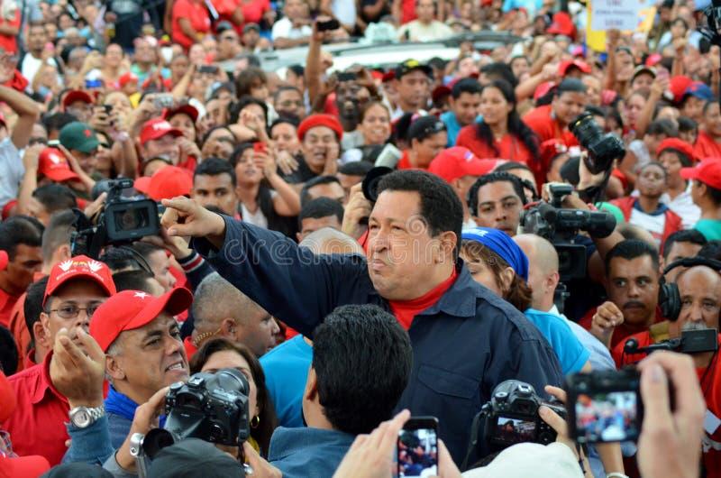 Hugo Chavez dyktator Venezuela obraz stock