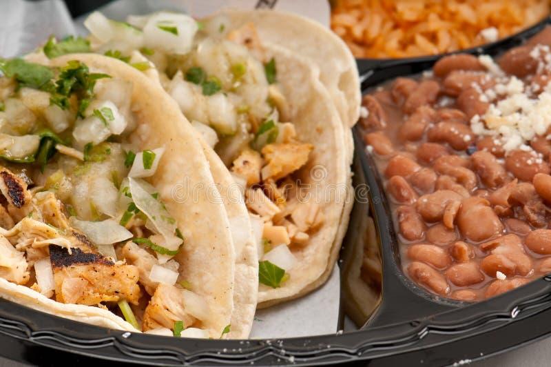 Huhn Burrito lizenzfreies stockfoto