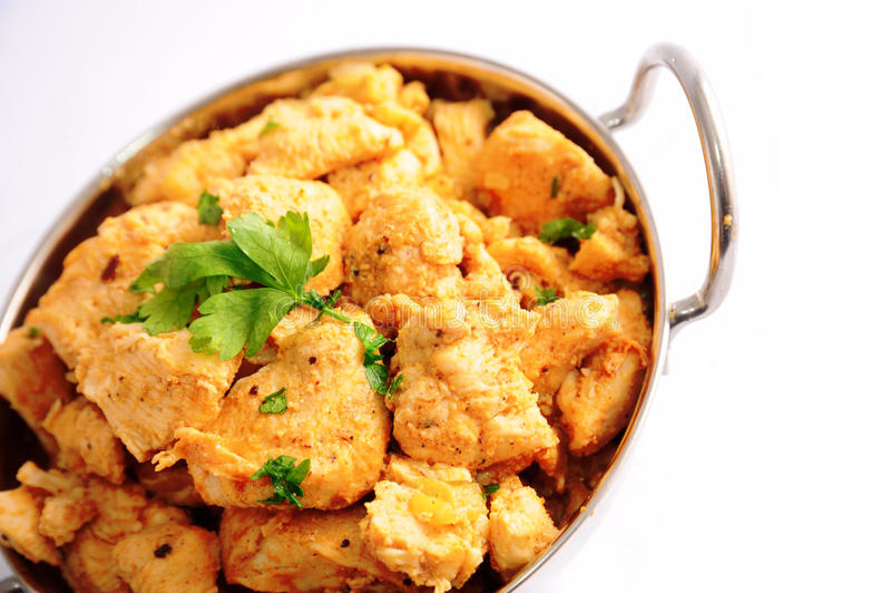 Huhn-Curry stockfoto