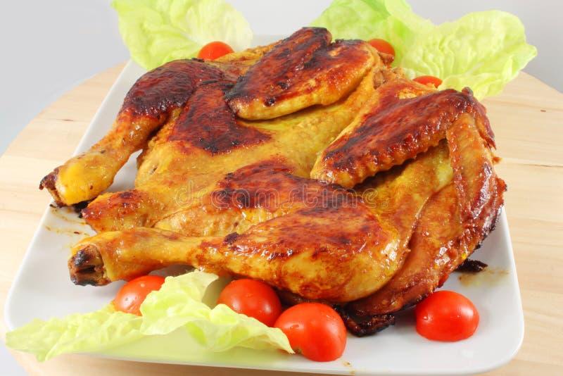 Huhn gegrillt lizenzfreie stockfotos