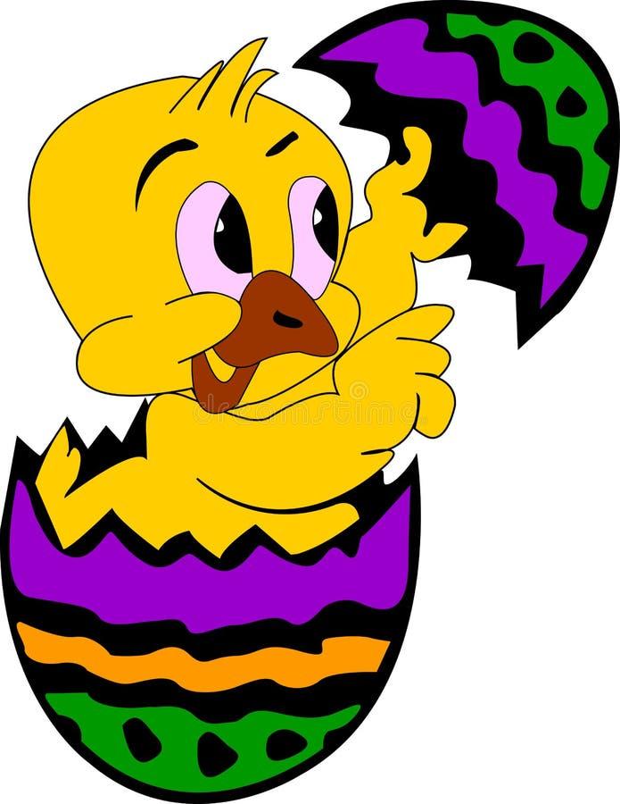 Huhn im Ei vektor abbildung