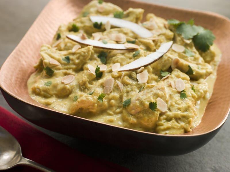 Huhn-Korma-Curry stockbild