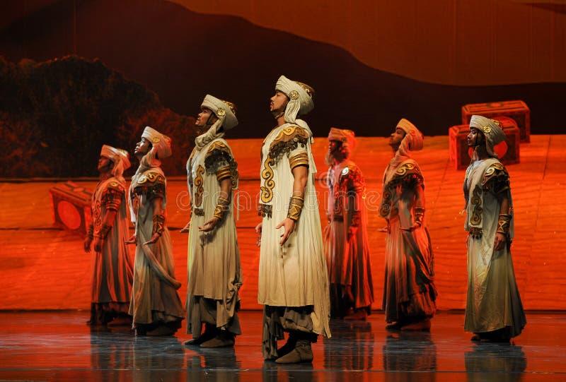 Hui Warrior-Hui balettmåne över Helan arkivfoto