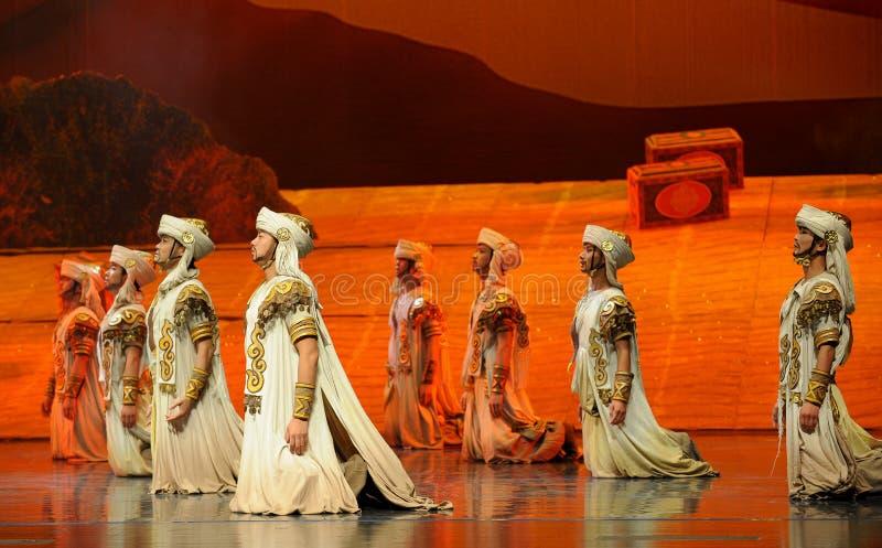 Hui Warrior-Hui balettmåne över Helan arkivbilder