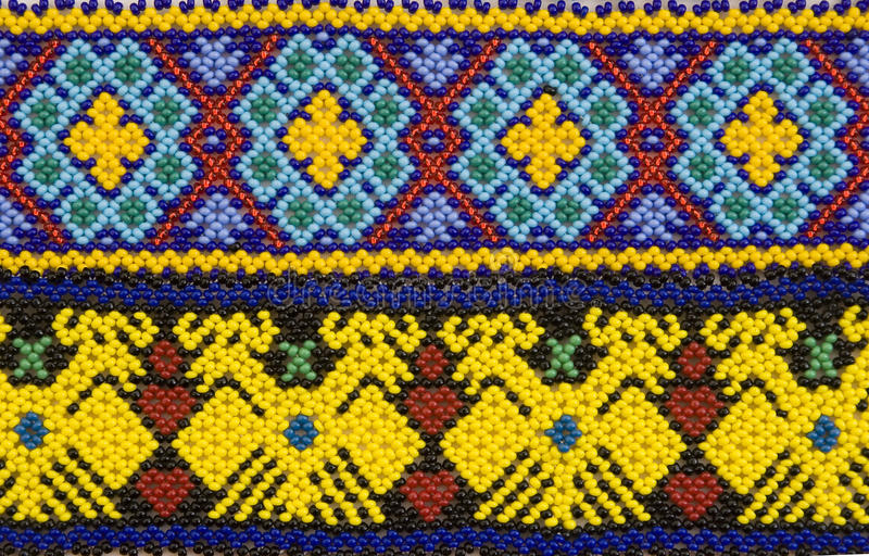 Huichol Auslegung stockfotografie
