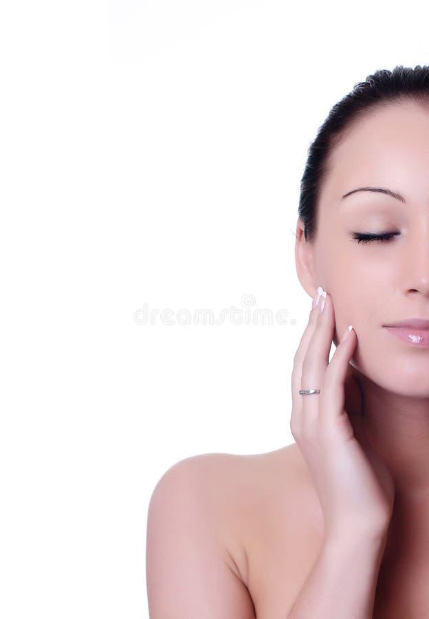 Huid en schoonheidsverzorging royalty-vrije stock afbeelding