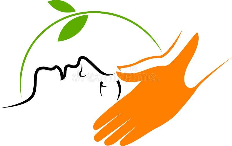 Huidcare spa specialist vector illustratie