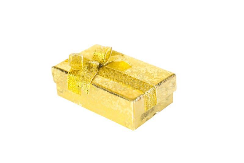 Huidige doos met boog royalty-vrije stock fotografie
