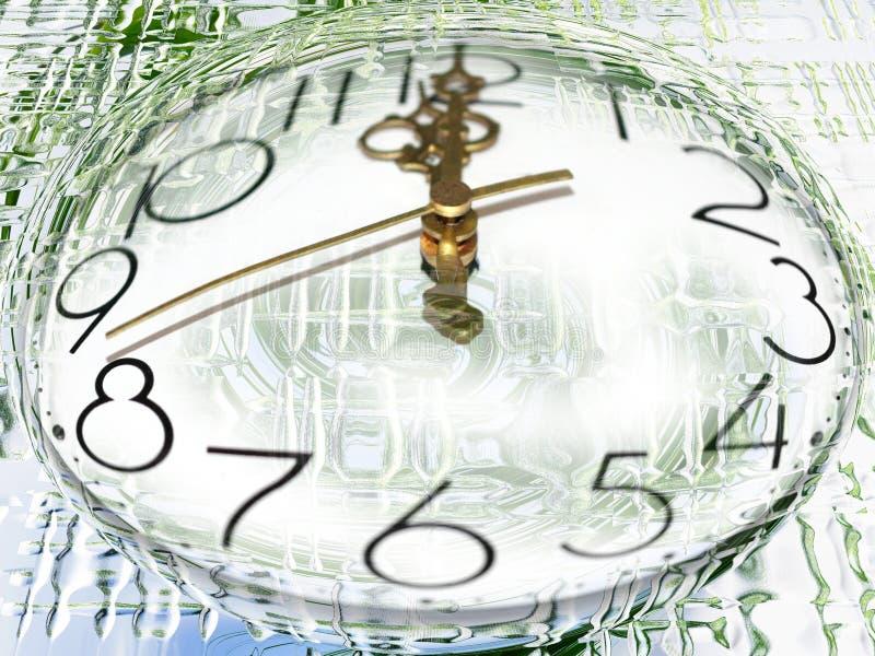 Huidige tijd vector illustratie
