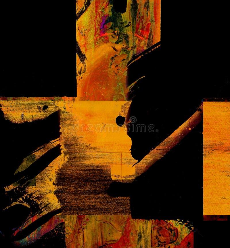 Huile abstraite photos libres de droits