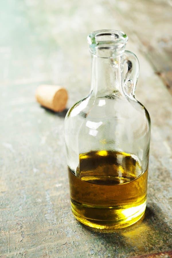Huile d'olive saine vierge supplémentaire photo stock