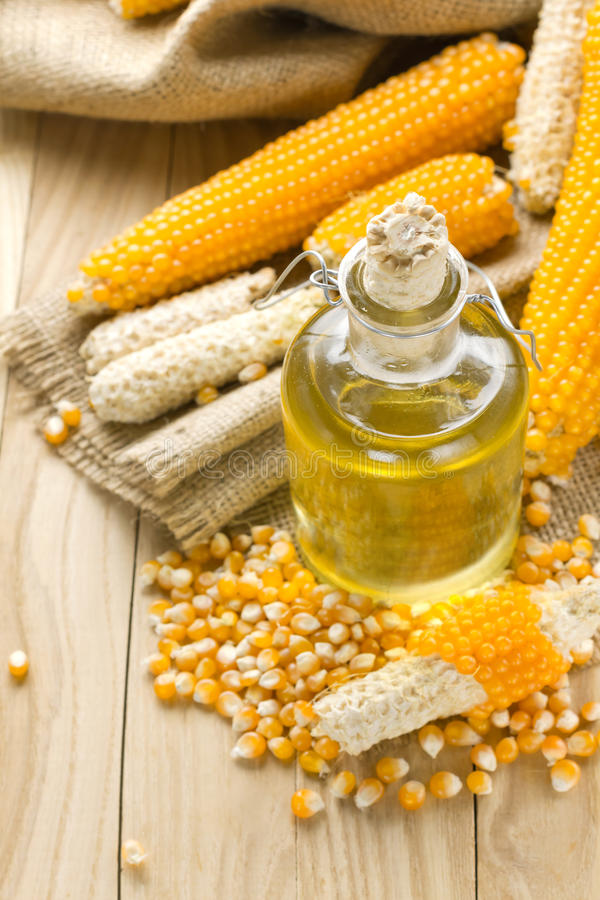 Huile de maïs photos libres de droits