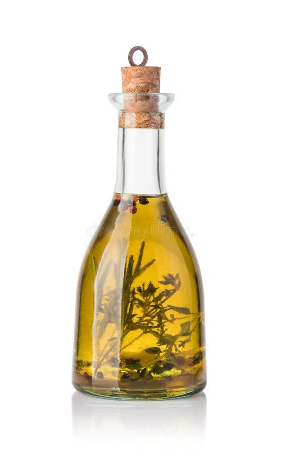 Huile et épice d'olive photographie stock libre de droits