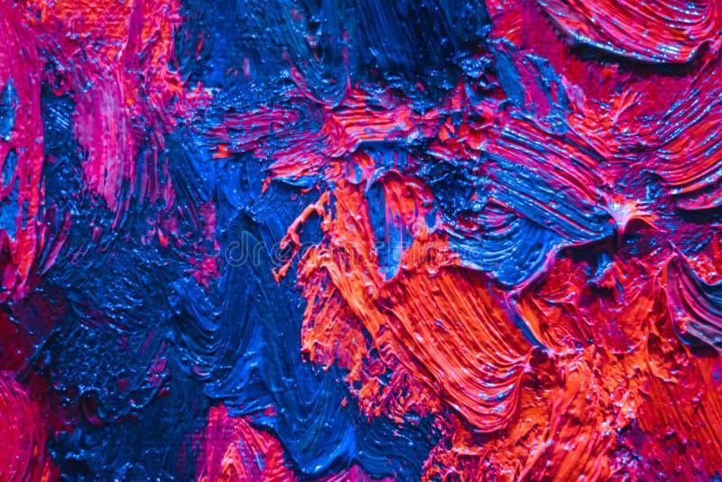 Huile sur la peinture image libre de droits