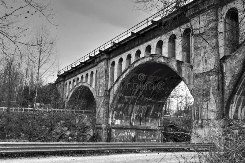 Huilebalkbrug stock foto