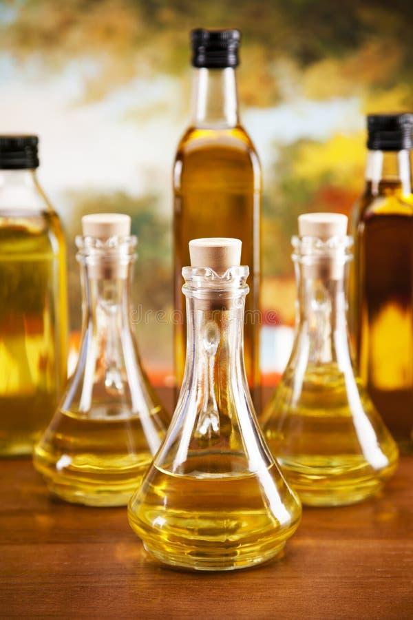 Huiles d'olive image libre de droits