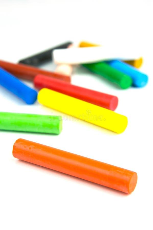 Huilez les pastels image libre de droits