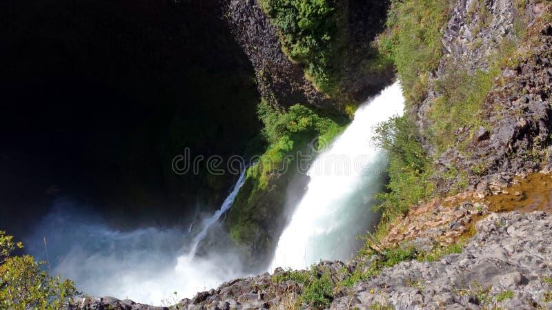Huilo Huilo - Chili royalty-vrije stock fotografie