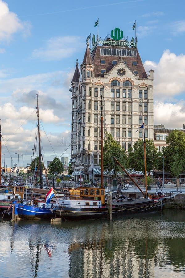 Huis του Ρότερνταμ Witte στοκ εικόνες