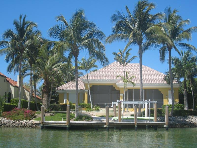 Huis 02 van Napels Bayfront stock afbeelding