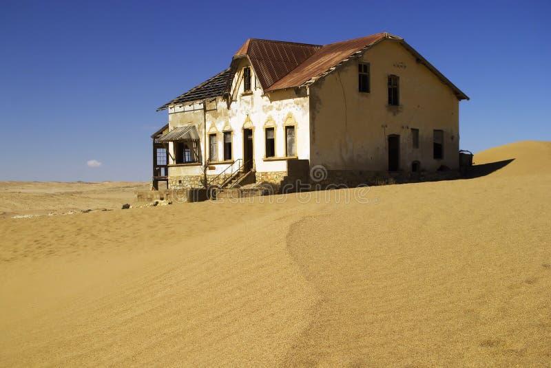 Huis 1 van Kolmanskop royalty-vrije stock foto's