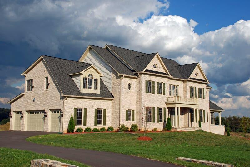 Huis 22 van de luxe stock afbeelding