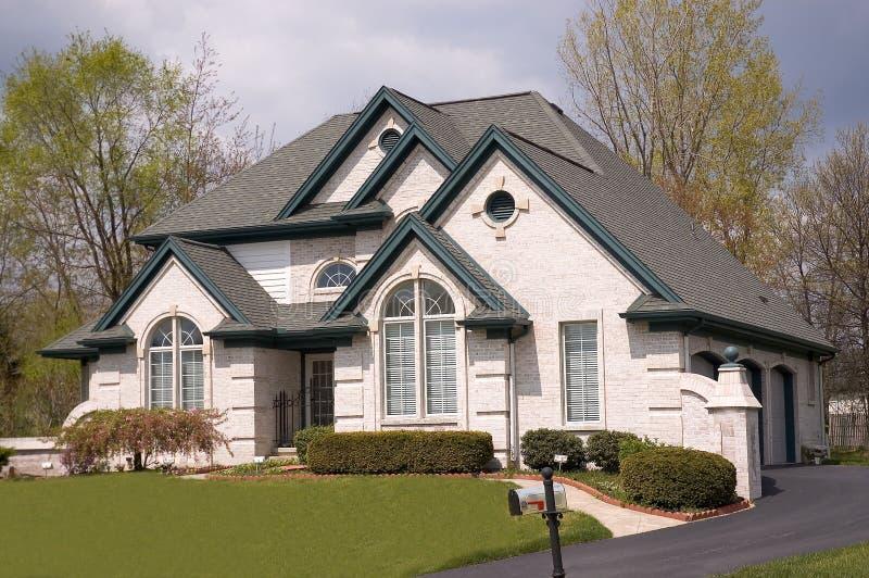 Huis 3 stock afbeelding