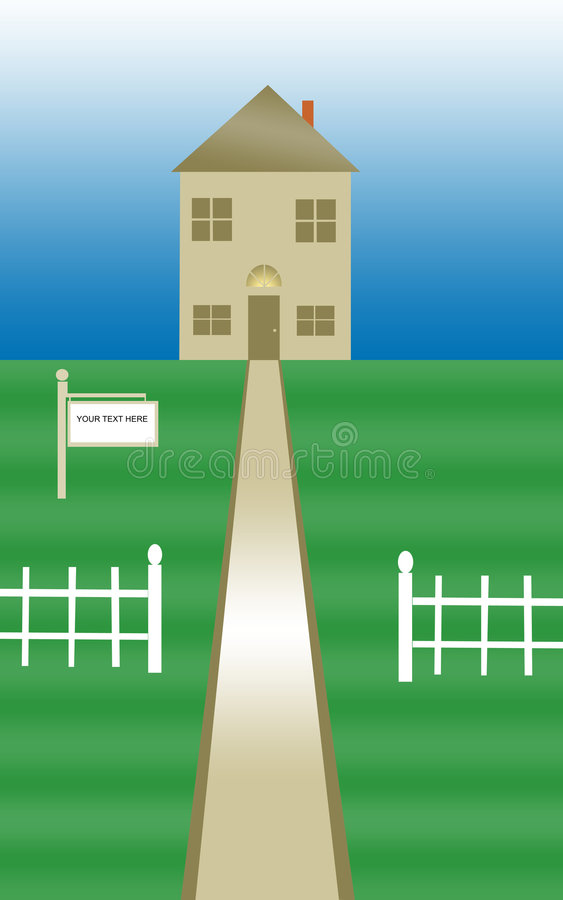 Huis vector illustratie