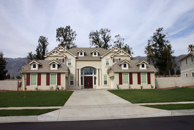 Huis 5 van Californië royalty-vrije stock foto