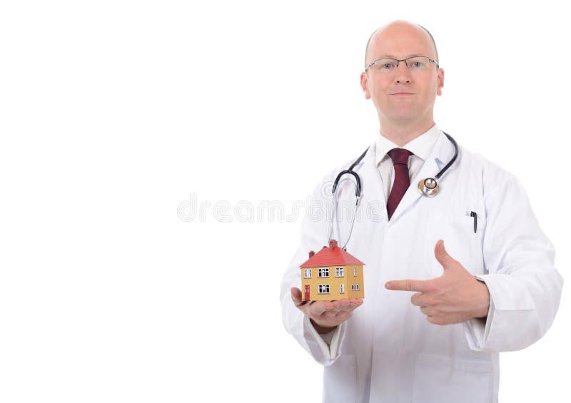 Huis arts stock afbeelding
