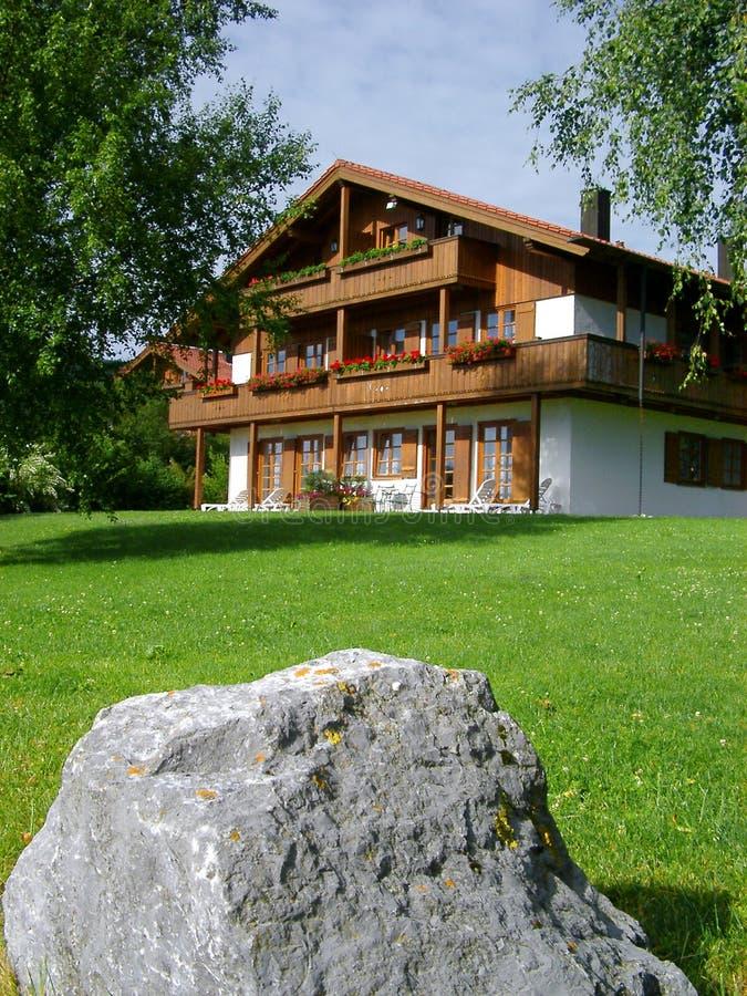 Huis in Beieren stock afbeelding