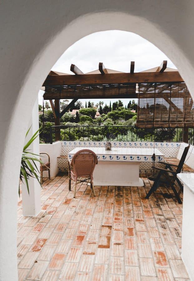 Huis binnenlands ontwerp in Portugal Portimao royalty-vrije stock fotografie
