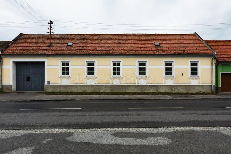 Huis in Bratislava stock fotografie