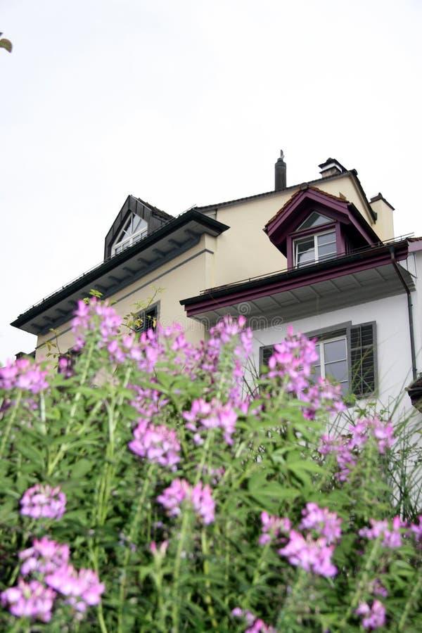 Huis in Brugg royalty-vrije stock foto