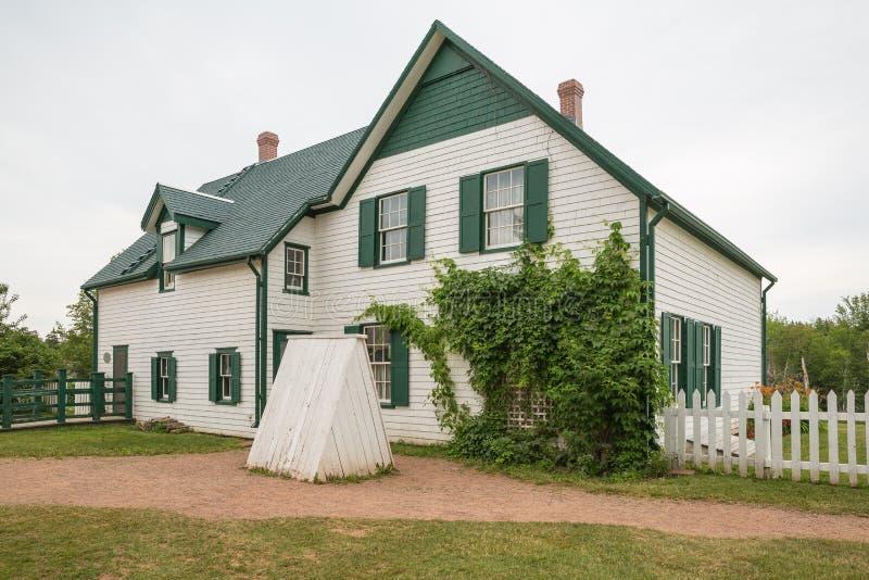 Huis in Cavendish op Prins Edward Island stock foto