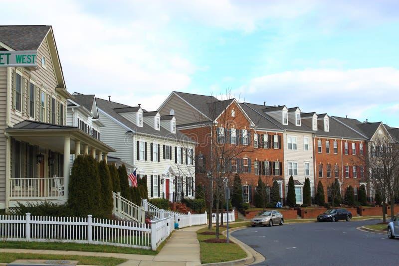 Huis in de stad royalty-vrije stock foto