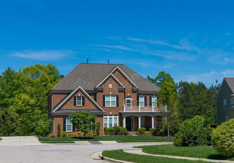 Huis in de V.S. royalty-vrije stock fotografie