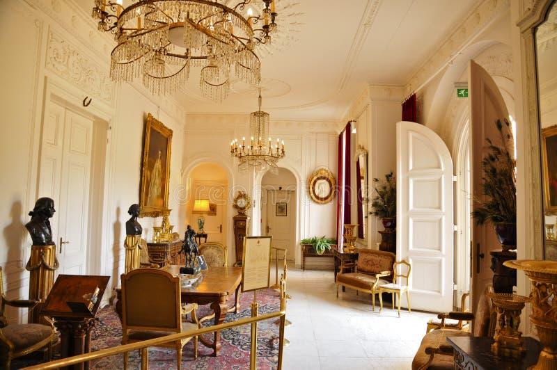 Huis Doorn, Residence-in-exile (1920–1941) of Wilhelm II. Doorn Manor Grand Hallway; Residence-in-exile (1920–1941) of Wilhelm II, the last German stock images