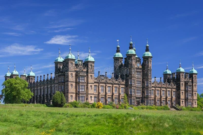 Huis in Edinburgh stock afbeelding
