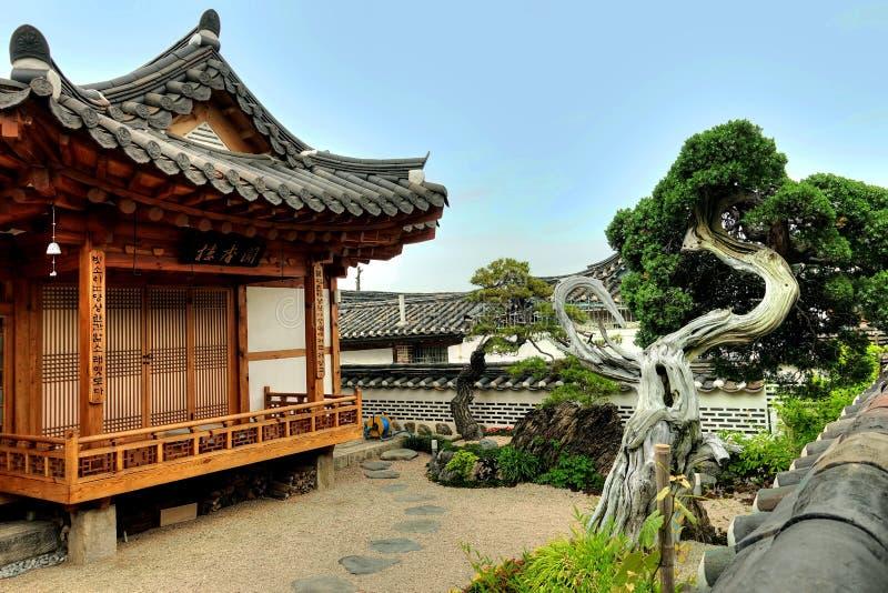 Huis en tuin, Kanazawa, Japan royalty-vrije stock fotografie