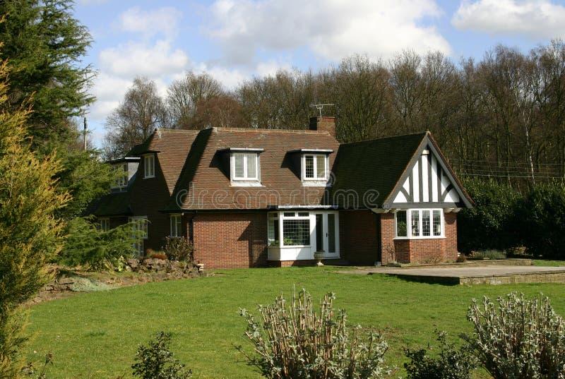 Huis in Engeland, het UK. royalty-vrije stock fotografie