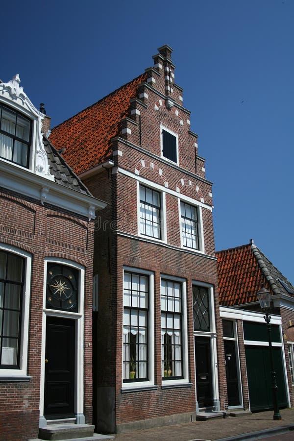 Huis In Enkhuizen, Holland Royalty-vrije Stock Afbeeldingen