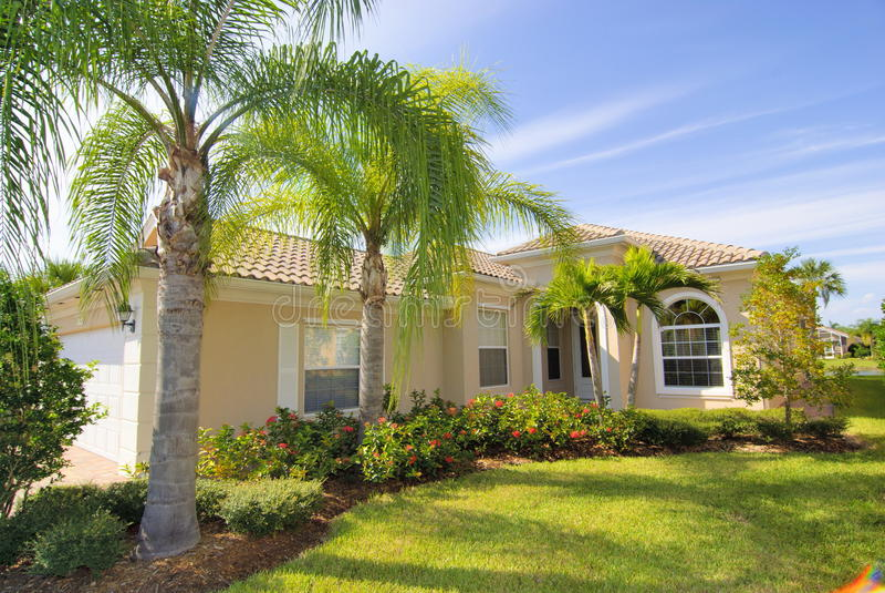 Huis in Florida royalty-vrije stock foto's