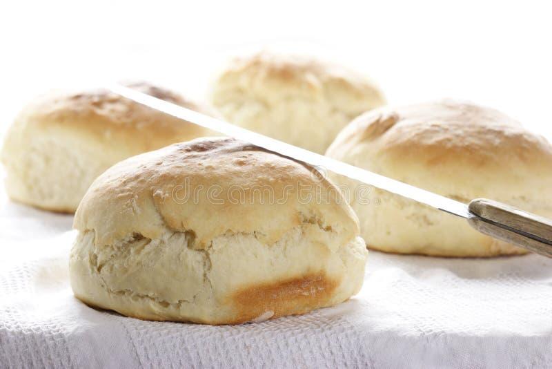 Huis-gebakken brood stock fotografie