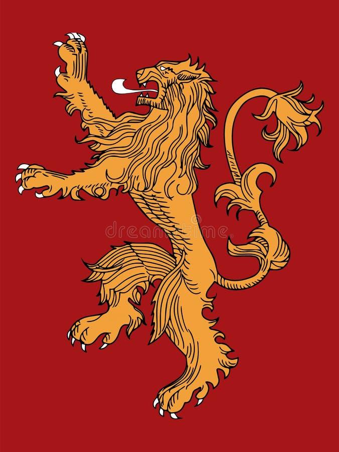 Huis lannister vector illustratie