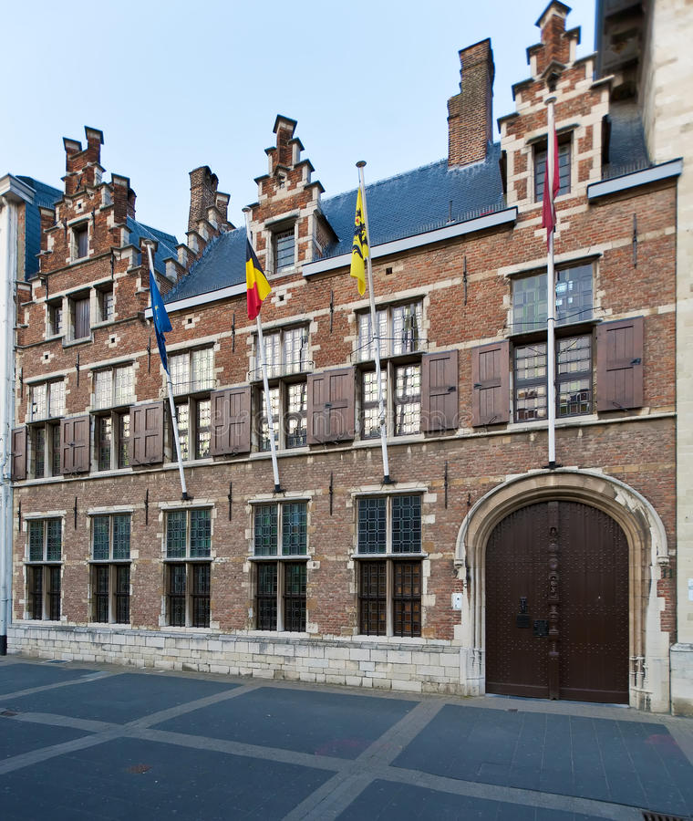 Huis-museum van Rubens, Antwerpen, België stock afbeelding