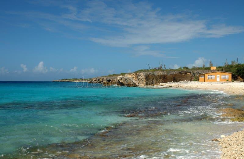 Huis op de Caraïben stock foto's