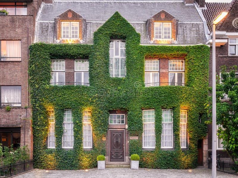 Huis in Rotterdam stock afbeelding