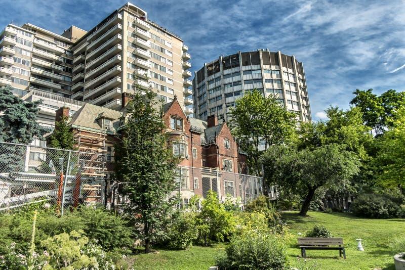 Huis van Davis van de McGill het Universitaire scène stock fotografie